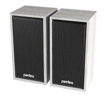 Акустика 2.0 PERFEO PF-84 Cabinet, белый дуб