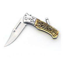 Нож складной Патриот PT-TRK19 с фонариком (8,5/21см)