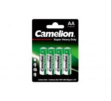 Батарейки Camelion R06 AA BL4, 4 шт в блистере