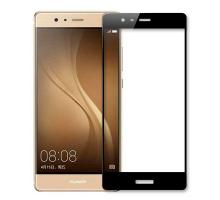 Защитное стекло 2,5D Huawei P9, black, REMAX Crystal, + чехол