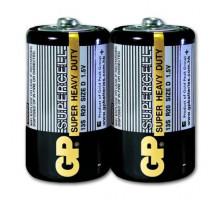 Батарейки GP R20 2 шт. в термопленке