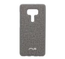 Чехол-накладка Asus ZenFone 3 Deluxe ZS570KL, тканевый, gray