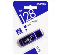Флэш-карта Smartbuy 128 Gb USB3.0, Glossy, темно-синяя (SB128GBGS-DB)