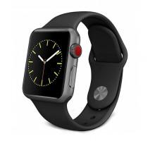 Часы Smart Watch 5, силиконовые, чёрные