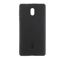 Чехол-накладка Nokia 3, cиликоновый, black, CHERRY CASE