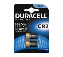 Батарейки Duracell CR2, BL2, 2 шт в блистере