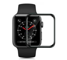 Защитное стекло 3D Apple watch 44mm, black, AA