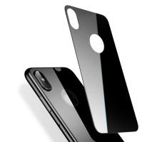 Защитное стекло 3D iPhone X/XS, на заднюю панель, BASEUS BM-01, black