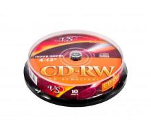 CD-RW VS 80 4-12x Cake Box/10