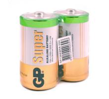 Батарейки GP LR20 Super, SH2, 2 шт в термопленке