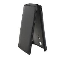 Чехол-книжка вниз Sony Xperia LT29i, кож.зам, black