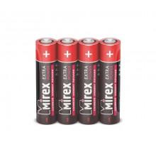 Батарейки Mirex R03 AAA, SR4, 4 шт в термопленке (60 шт/уп)