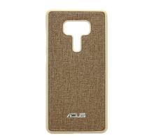 Чехол-накладка Asus ZenFone 3 Deluxe ZS570KL, тканевый, brown