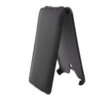 Чехол-книжка вниз Sony Xperia 5, кож.зам, black