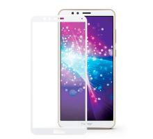 Защитное стекло 3D Honor 7X, white, в тех.упаковке