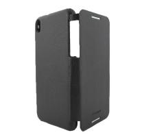 Чехол-книжка вниз HTC Desire 816, кожаный, black, ARMOR