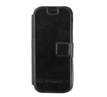 Чехол-книжка Nokia N206, вбок, с окошком, black, Sale