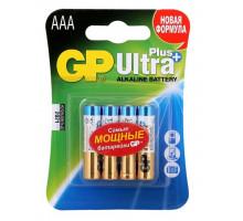 Батарейки GP LR03 AAA Ultra Alkaline 24AU-CR4, BL4, 4 шт в блистере