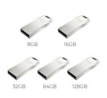 Флэш-карта HOCO 16 Gb, USB 2.0 UD4, silver