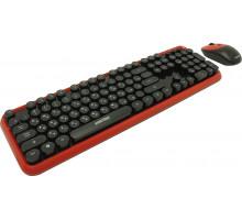 Комплект беспроводной клавиатура+мышь Smartbuy 620382AG черно-красный (SBC-620382AG-RK)