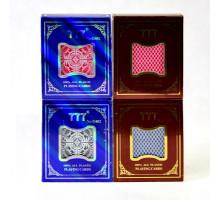 Карты игральные пластиковые Poker(P-018 777 №G402/пластиков.бокс)(54листа)(str)
