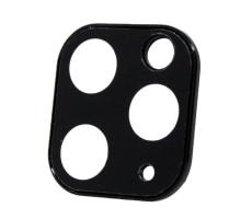 Защитное стекло 3D iPhone XI PRO, для камеры, black