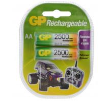 Аккумулятор GP R06 AA 2500mAh Ni-Mh, BL2, 2 шт в блистере пластик