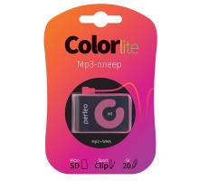 Плеер Perfeo Color-Lite, розовый (PF_A4193)