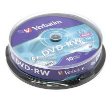DVD+RW VS 4.7 Gb 4x Cake Box/10