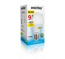 Светодиодная (LED) Лампа Smartbuy-A60-09W/3000/E27 (SBL-A60-09-30K-E27-N)