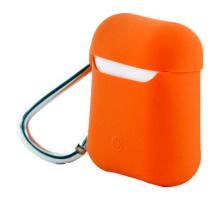 Чехол AirPods Case Protection, оранжевый