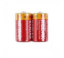 Батарейки Kodak R20 2SR, 2 шт в термопленке