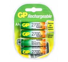 Аккумулятор GP R06 AA 2700mAh Ni-Mh, BL4, 4 шт в блистере пластик