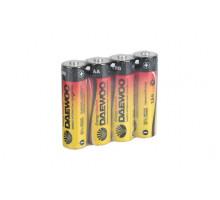 Батарейки Daewoo LR06 AA Energy Alkaline SR4, 4 шт в термопленке