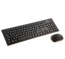 Комплект беспроводной клавиатура + мышь Smartbuy 23335AG (SBC-23335AG-K) черный