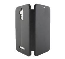Чехол-книжка Asus ZenFone 3 MAX ZC520TL, вбок, black, FASHION CASE