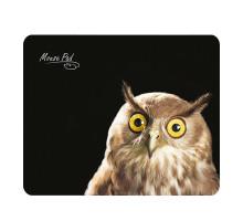 Коврик PM-H15 owl Dialog-черный c рисунком совы