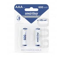 Аккумулятор Smartbuy R03 AAA 600mAh Ni-Mh (SBBR-3A02BL600) 2 шт в блистере