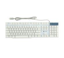 Клавиатура игровая Dialog Gan-Kata KGK-15U - с подсветкой, USB, белая