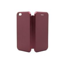 Чeхол-книжка iPhone 6, вбок, bordo, FASHION CASE