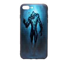 Чeхол-накладка iPhone 7+/8+, силиконовый, Marvel, Venom