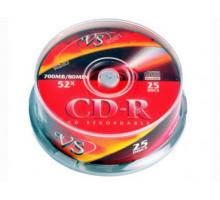 CD-R VS 80 52x Cake Box/25