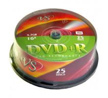 DVD+R VS 4.7 Gb 16x Cake Box/25