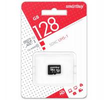Карта памяти Smartbuy microSDXC 128 Gb Сlass 10 UHS-1
