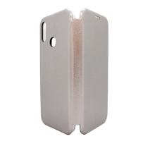 Чехол-книжка Samsung A10s, вбок, silver, FASHION CASE