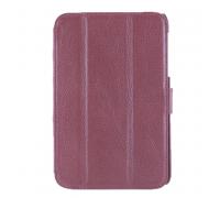 Чехол-книжка Samsung Tab P3100, кожа, red