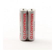 Батарейки Minamoto R06 AA 2SR, 2 шт в термопленке