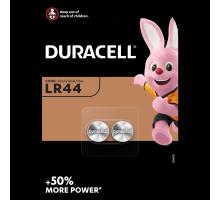 Батарейки Duracell AG13 LR44 A76 357, 2BL, 2 шт в блистере