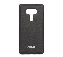 Чехол-накладка Asus ZenFone 3 Deluxe ZS570KL, тканевый, black