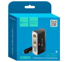 Разветвитель прикуривателя Dream BM-003 2 гнезда 12/24В 2 гнезда USB